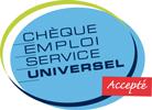 Chèque Emploi Service Universel accepté par AIDEN