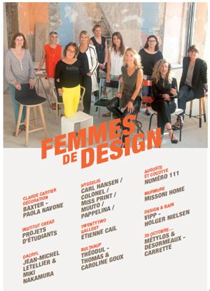 ARTY L'AMOUR présente FEMMES de DESIGN - Dossier de Presse