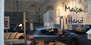 ARTY L'AMOUR DE L'ART et Maison HAND - Inauguration espace Maison Hand rue Jarente