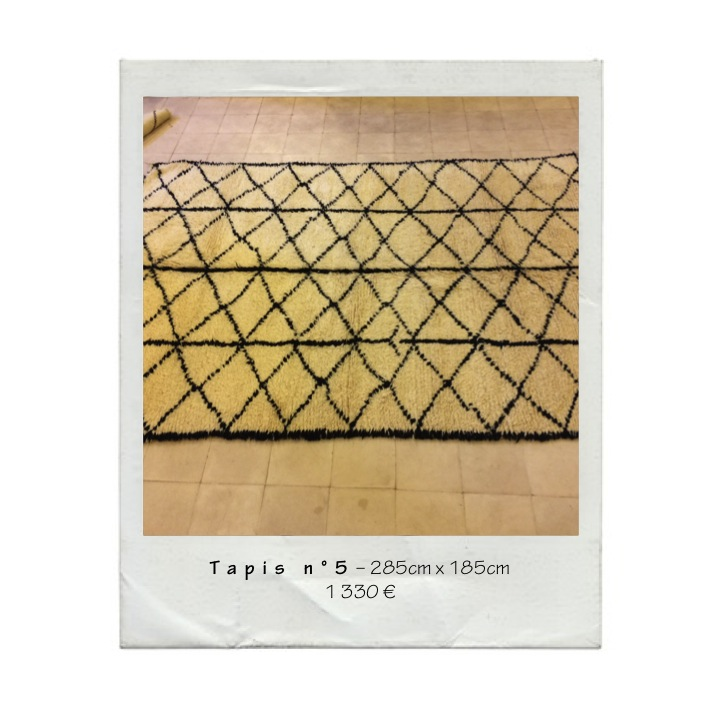 Maison Hand Lyon - Arrivage de tapis berbères en provenance du Maroc