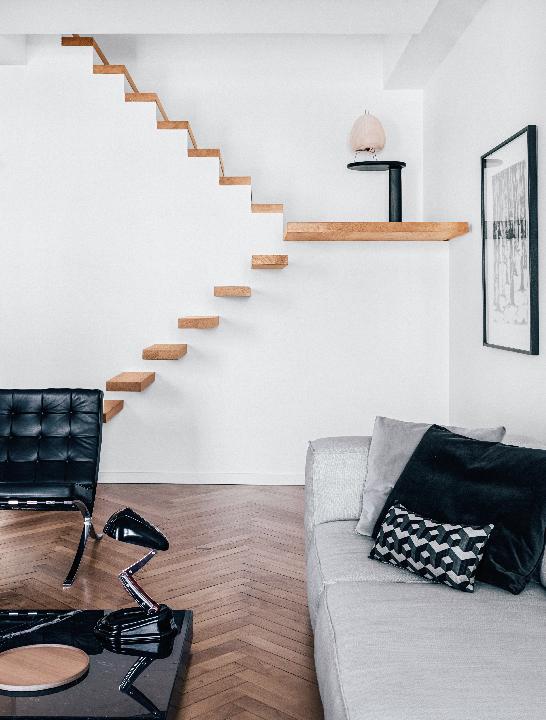 Maison HAND - réalisation appartement quai Pierre Scize Lyon - photos Felix Forest