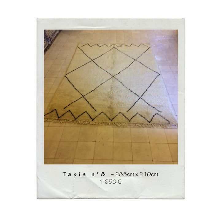 MAISON HAND - Tapis berbère N°8 - 285cm x 210cm - 1.650€