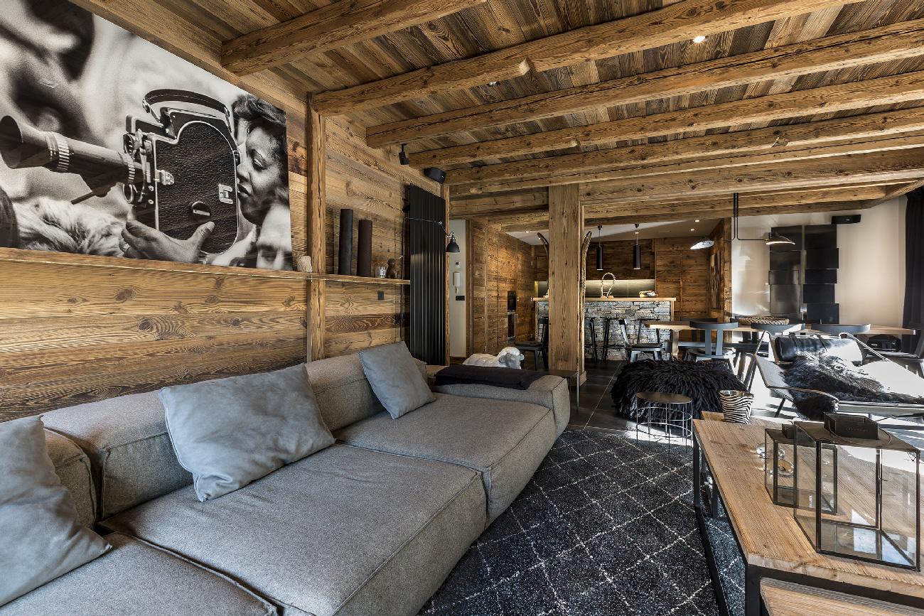 Maison HAND et le chantier de l'appartement de VAL D'ISERE - rénovation et décoration d'intérieur