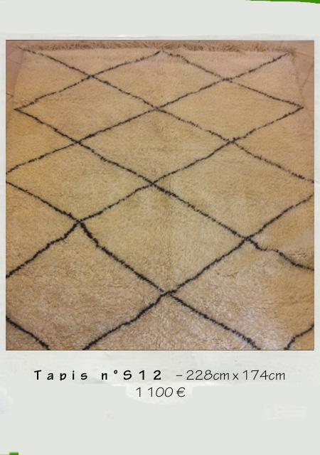 Maison HAND présente les tapis Berbères