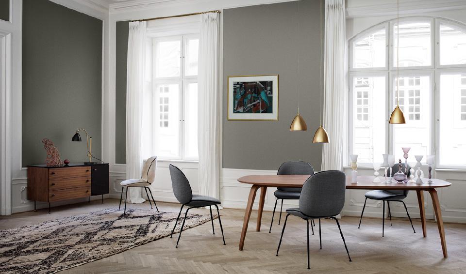Maison HAND et la collection de mobiliers et luminaires GUBI