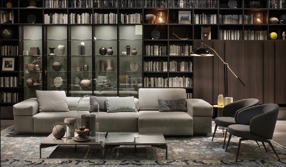 Maison HAND - Collection bibliothèques et meubles de rangement LEMA