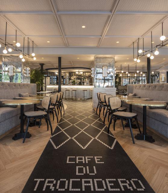 Maison HAND et le projet de rénocation du CAFE du TROCADERO
