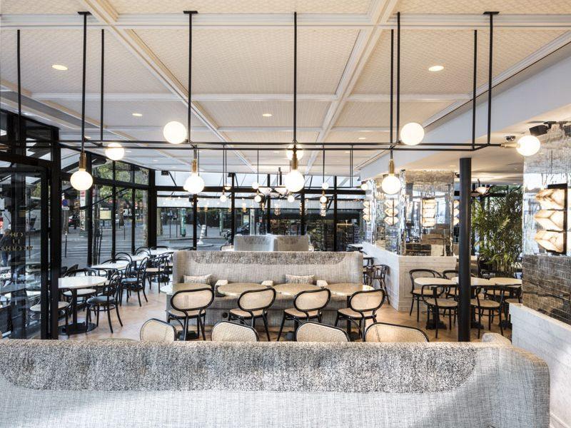 Maison HAND - projet d'aménagement et de décoration d'intérieur CAFE du TROCADERO