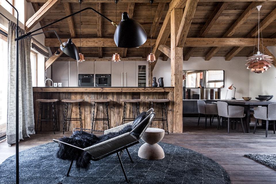 Maison HAND - Chalet montagne Mégève - Photos Felix Forest