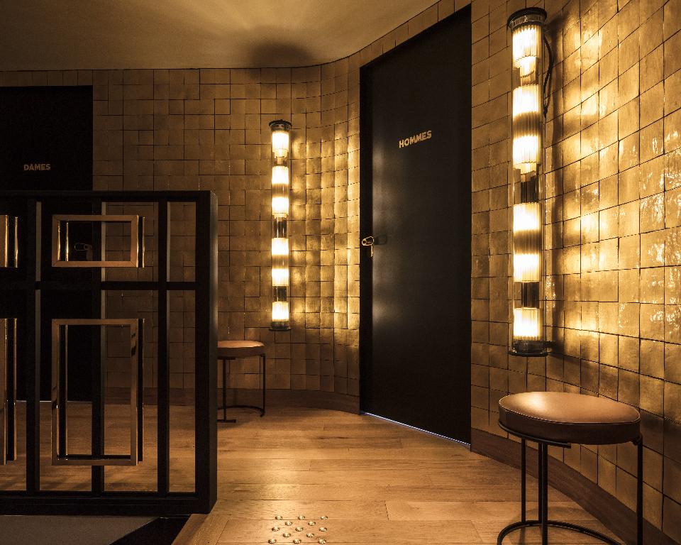 Maison HAND - décoration d'intérieur CAFE du TROCADERO - photo Guillaume GRASSET