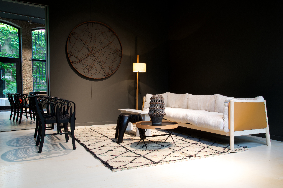 Maison HAND et la collection de mobiliers De Padova - Ambiance 2017 rue Jarente