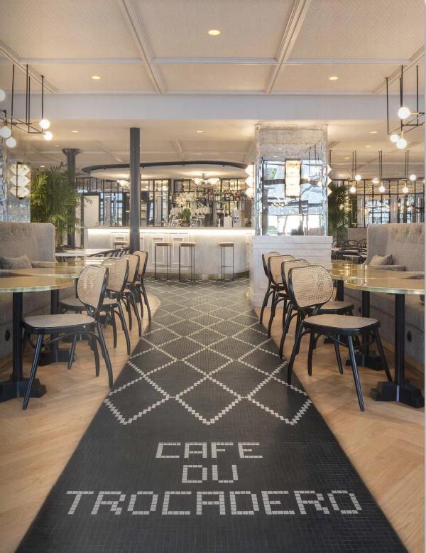 DOMODECO parle de Maison HAND et du Café du TROCADERO