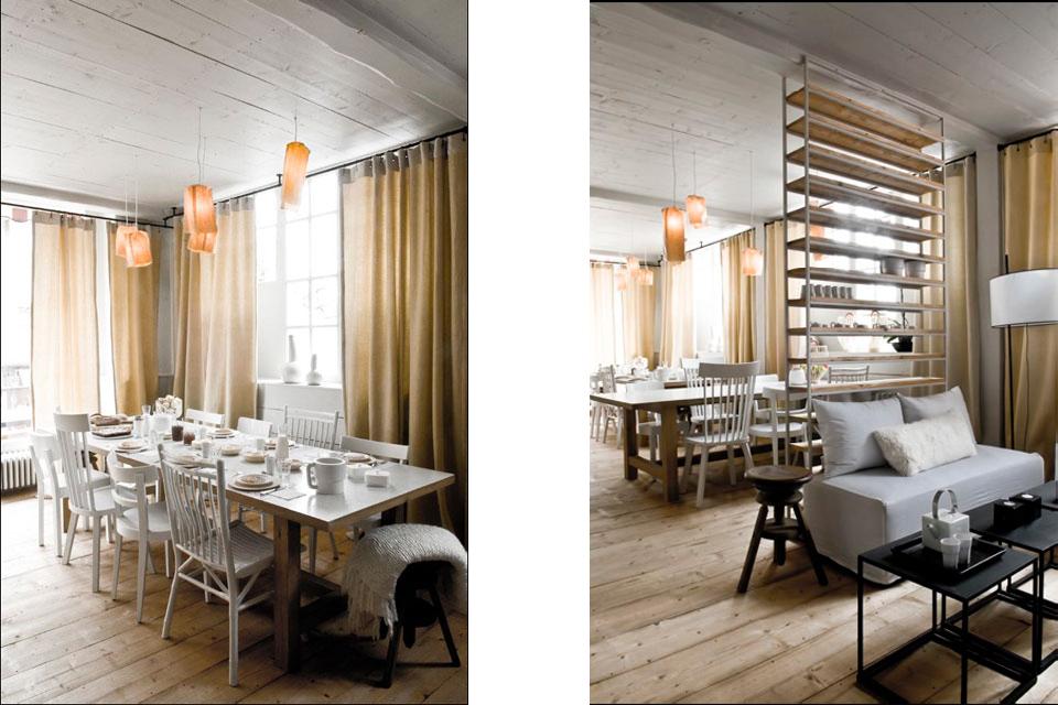 Présentation du projet de rénovation d'un hôtel 10 chambres sur 3 niveaux à Saint Gervais Mont Blanc