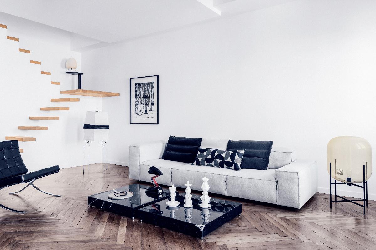 Maison HAND - réalisation appartement lyon Pierre Scize