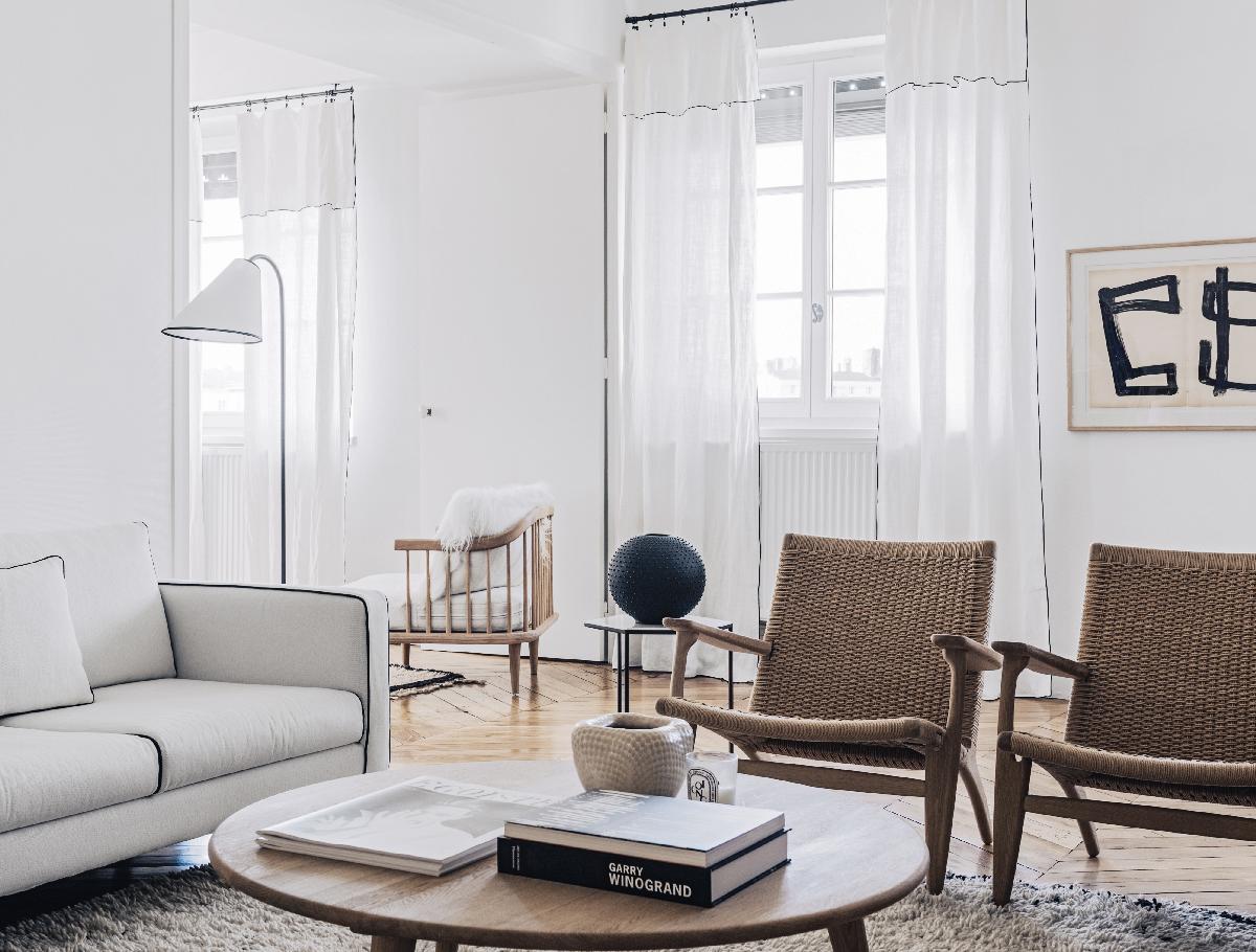 Maison HAND - réalisation appartement lyon quai Rolland