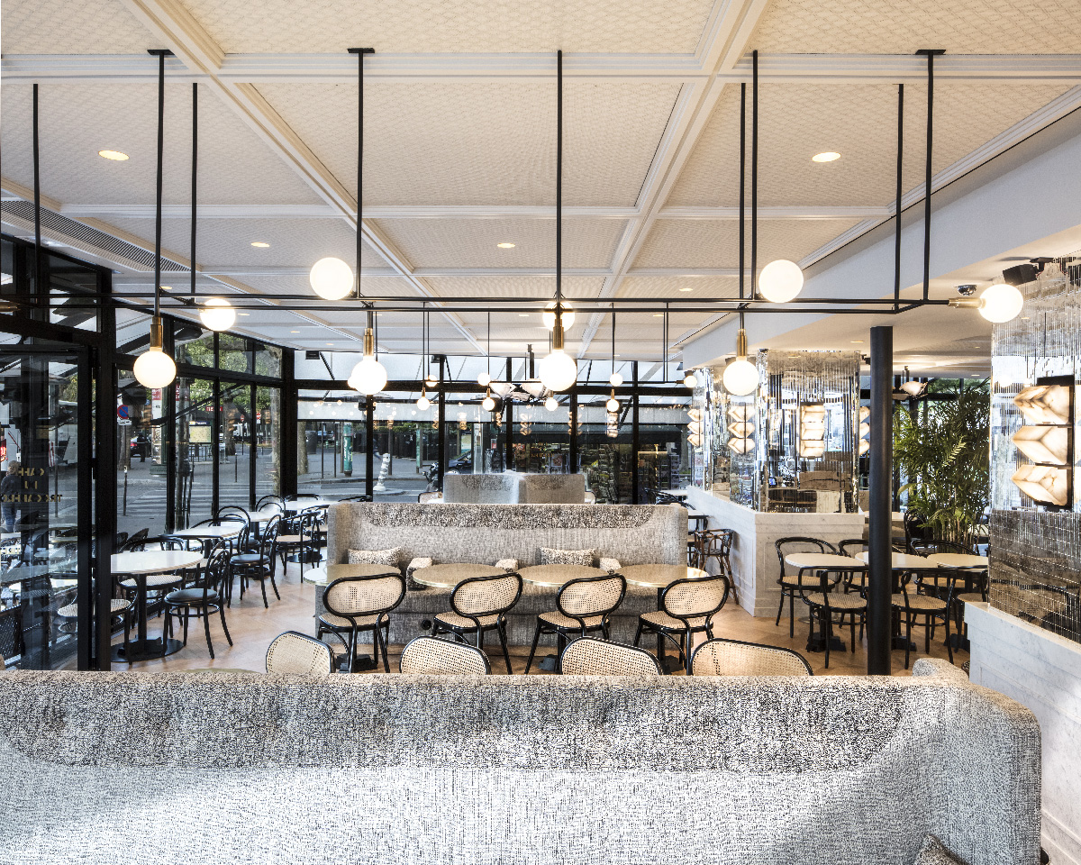 Maison HAND - réalisation Café du Trocadero